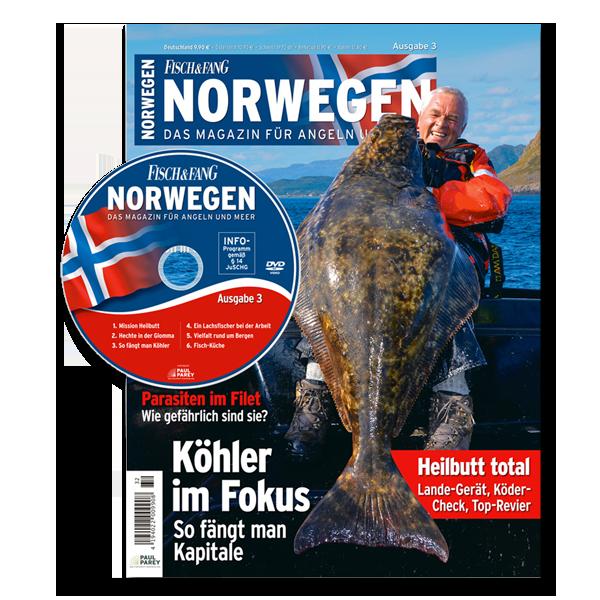 FISCH & FANG Sonderheft Nr. 32: Norwegen-Magazin Nr. 3 + DVD im Pareyshop
