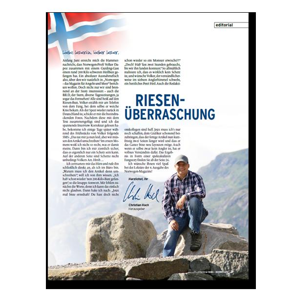FISCH & FANG Sonderheft Nr. 34: Norwegen-Magazin Nr. 4 + DVD im Pareyshop