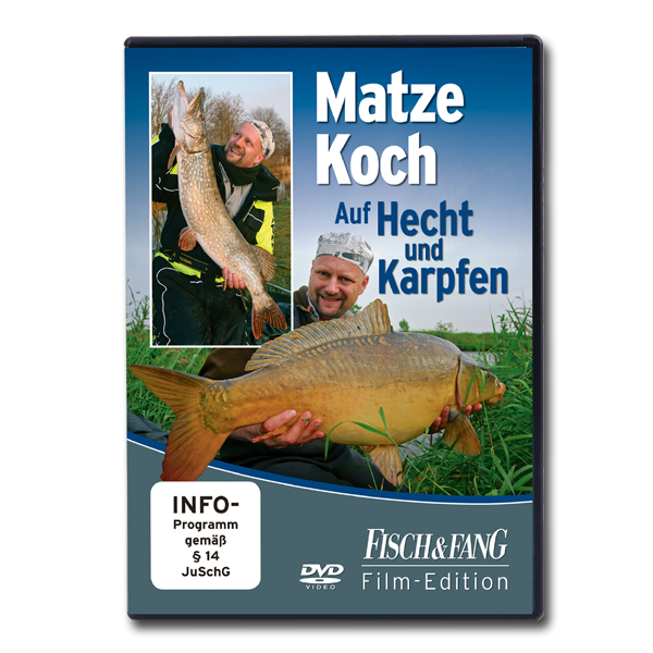 Auf Hecht und Karpfen - Matze Koch (DVD) im Pareyshop
