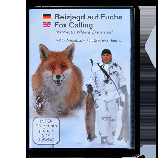 Reizjagd auf Fuchs mit Klaus Demmel - Teil 2 Winterjagd (DVD) im Pareyshop