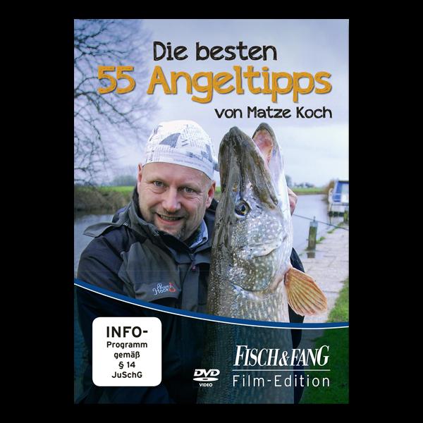 Die besten 55 Angeltipps von Matze Koch (DVD) im Pareyshop