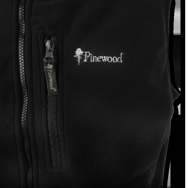 Pinewood Fleeceweste Utah/Pirsch Schwarz im Pareyshop