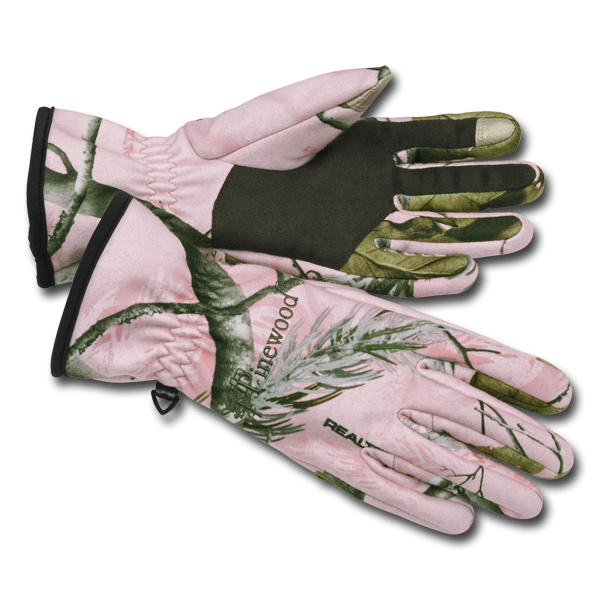 Pinewood Damen Jagdhandschuh Toni Realtree AP-Pink im Pareyshop