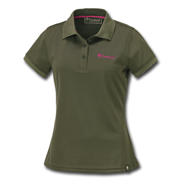 Pinewood Damen Poloshirt Ramsey Grün im Pareyshop