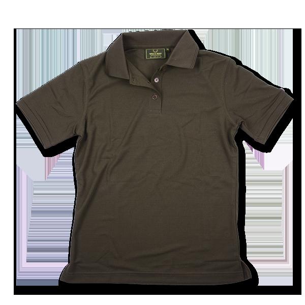 Wild & Wald Damen Poloshirt Oliv im Pareyshop