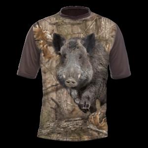 Gamewear T-Shirt 3DX Wildschwein (kurzarm) im Pareyshop