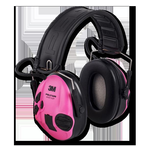 PELTOR Gehörschutz SportTac Pink/Grün im Pareyshop