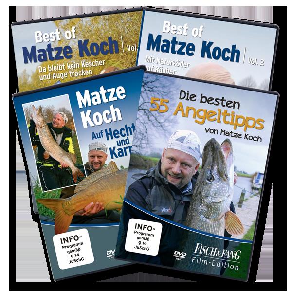 Matze Koch DVD Set im Pareyshop