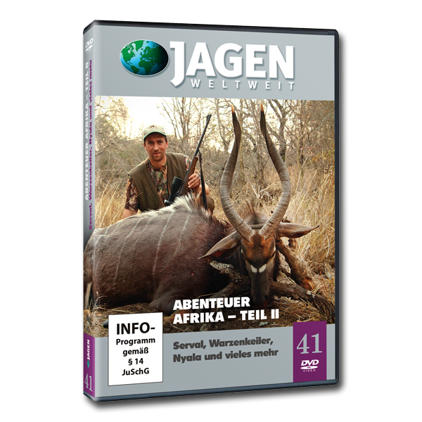 JAGEN WELTWEIT DVD Set: Abenteuer Afrika (Teil 1 - 3) im Pareyshop