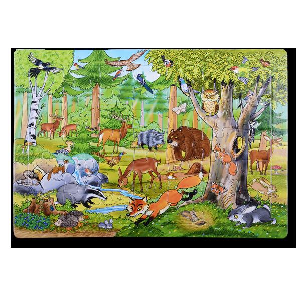 Puzzle Wald im Pareyshop