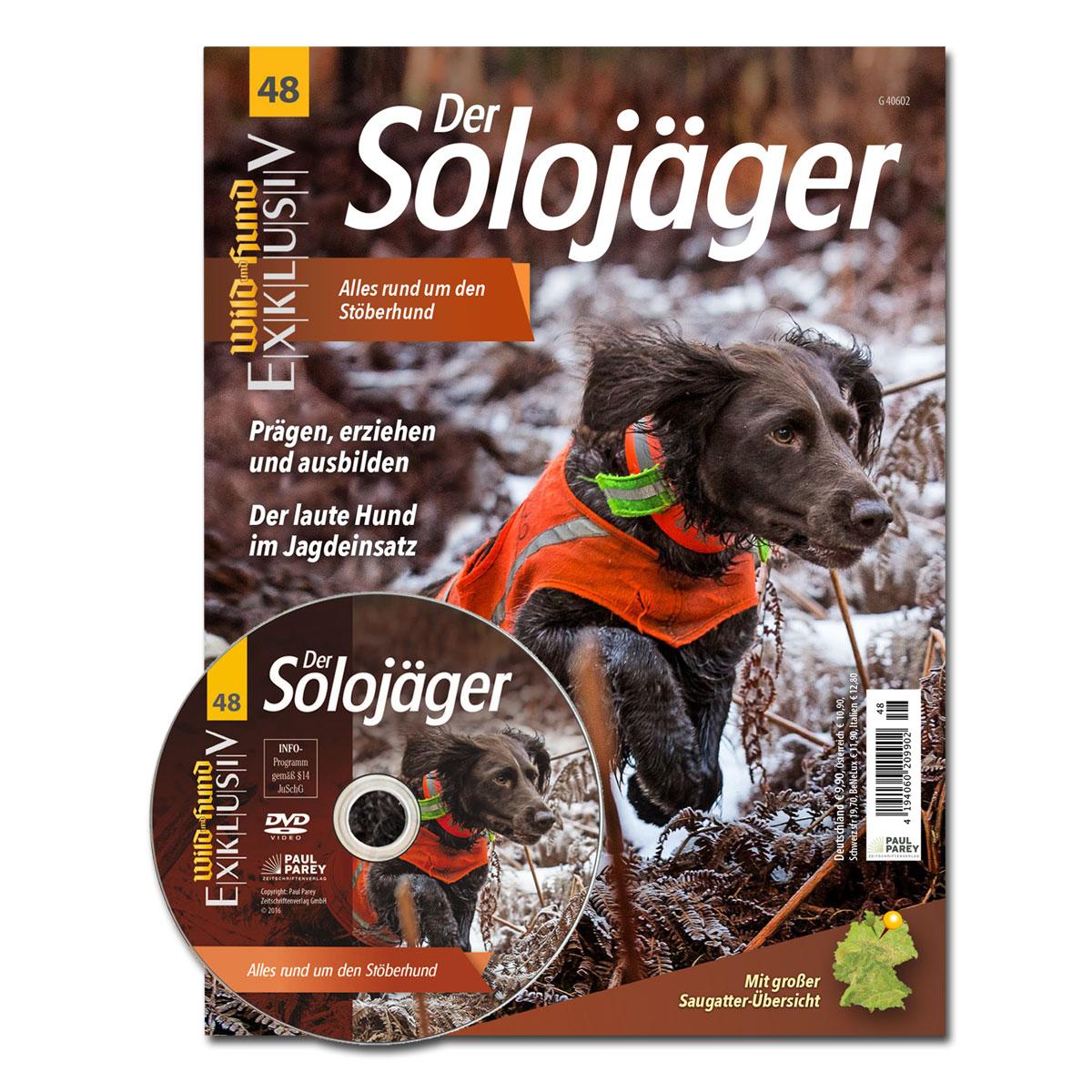 WILD UND HUND Exklusiv Nr. 48: Der Solojäger - Alles rund um den Stöberhund inkl. DVD im Pareyshop