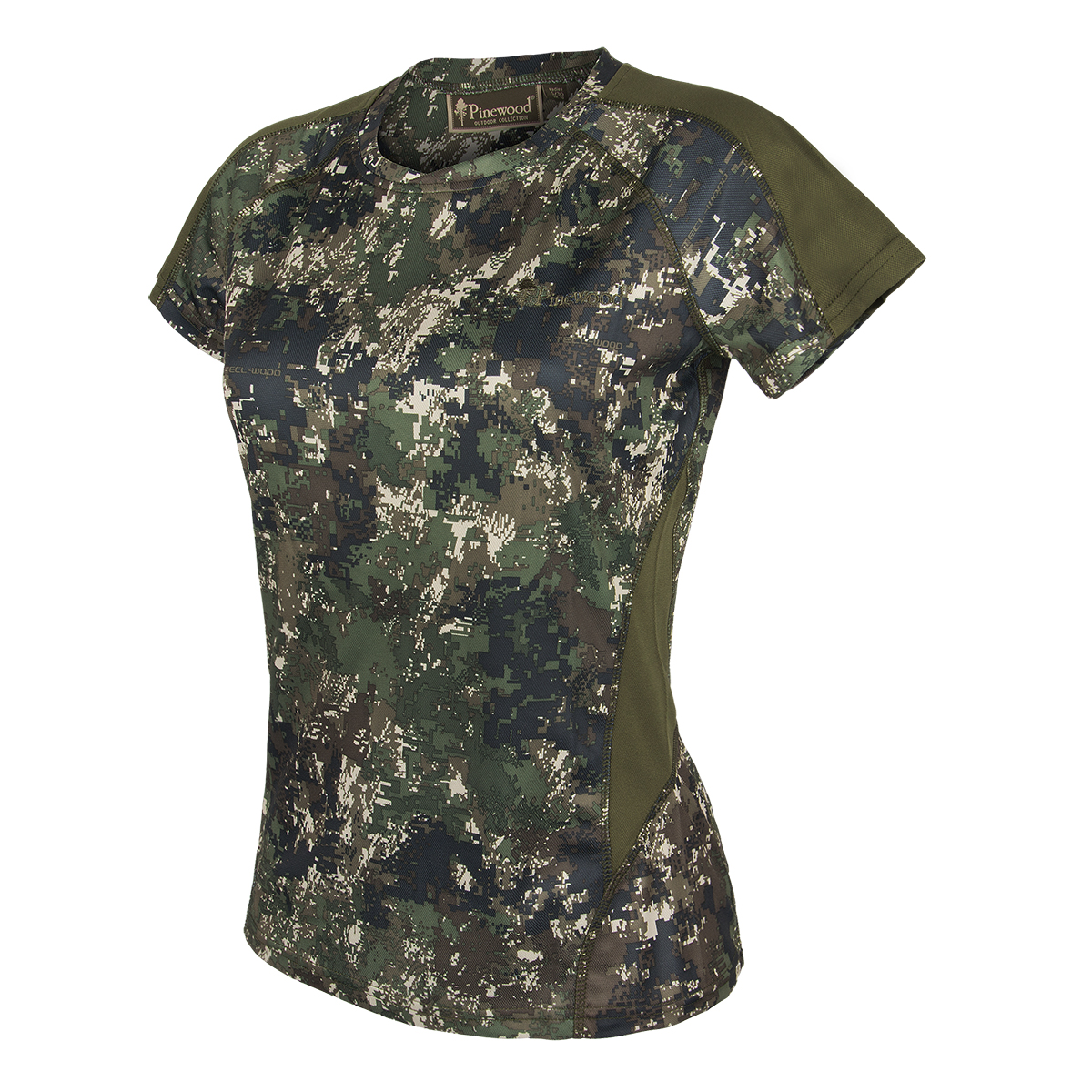 Pinewood Damen T-Shirt Ramsey Camouflage Optima II im Pareyshop