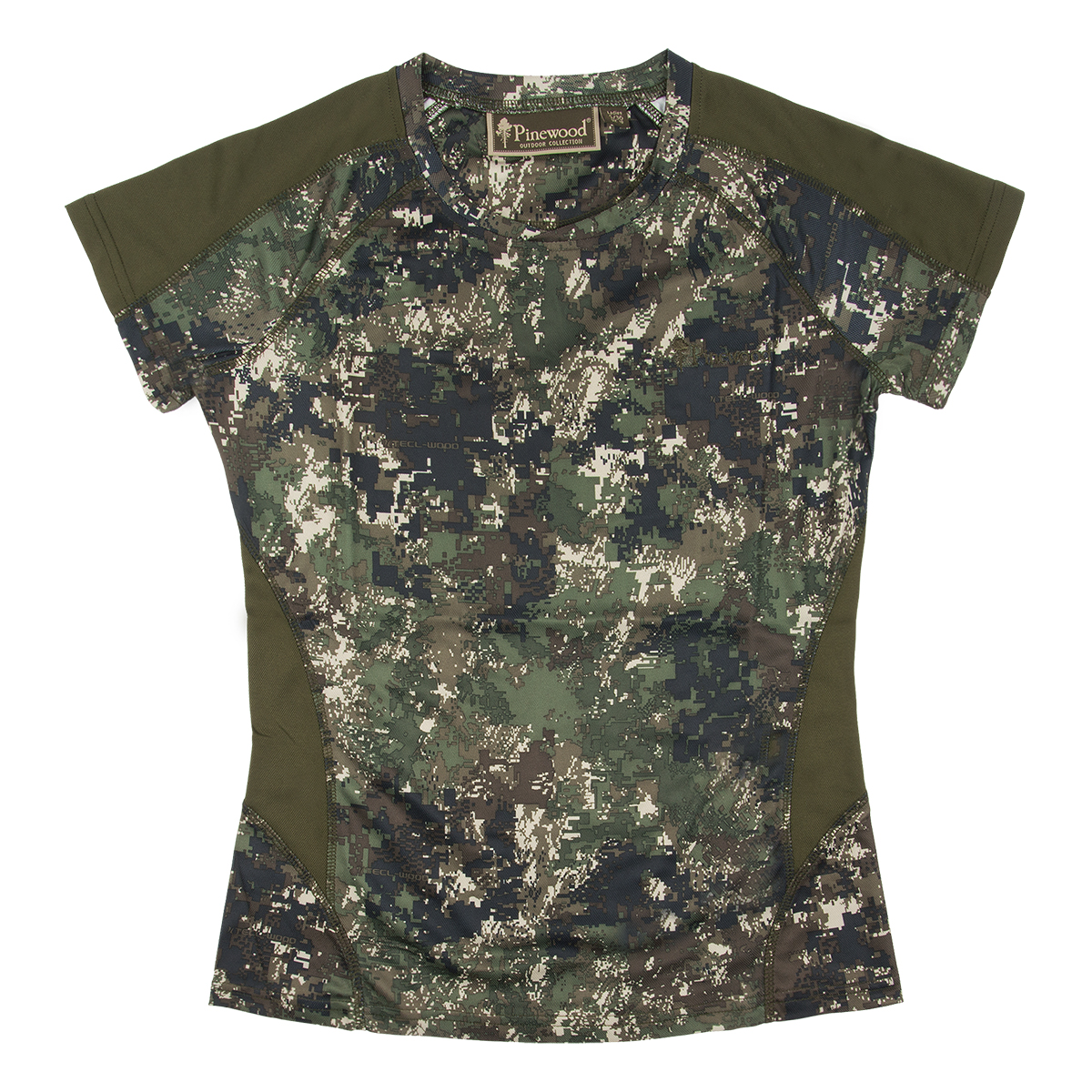 pinewood damen t shirt ramsey camouflage optima ii. Black Bedroom Furniture Sets. Home Design Ideas