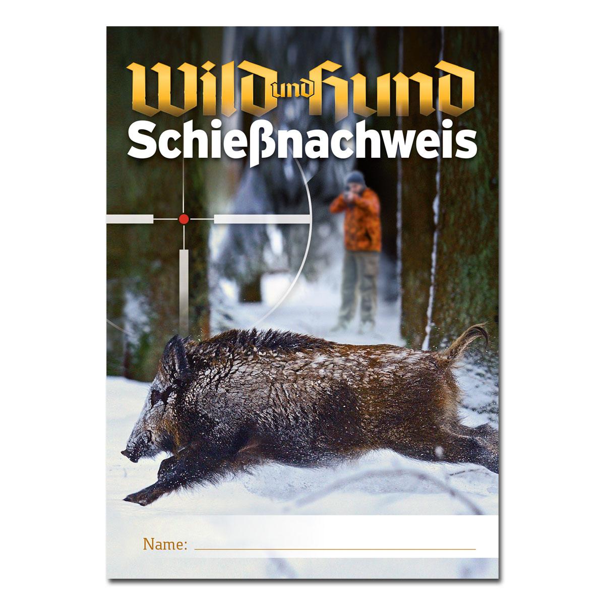 12232eee9cc760 WILD UND HUND Schießnachweisheft - jetzt kaufen auf Pareyshop.de