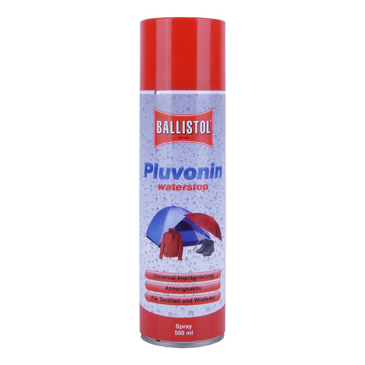 Ballistol Pluvonin Waterstop (Imprägnierspray) im Pareyshop