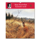 Rien Poortvliets großer Tierkalender 2018 im Pareyshop