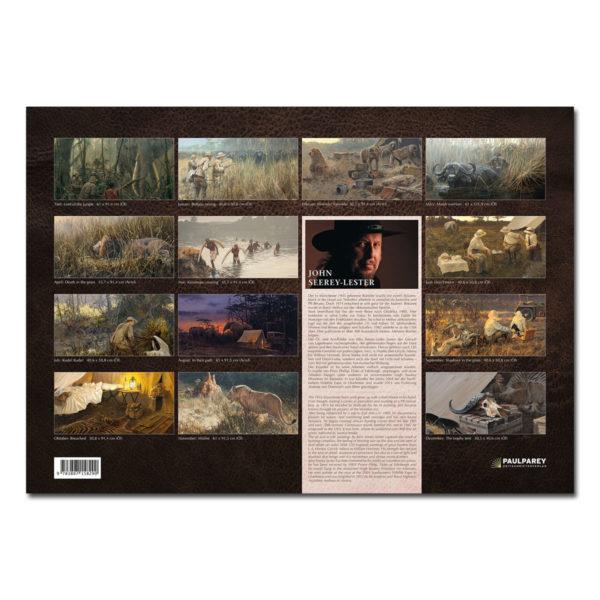 Classic Safaris -John Seerey-Lester Kalender 2018 im Pareyshop