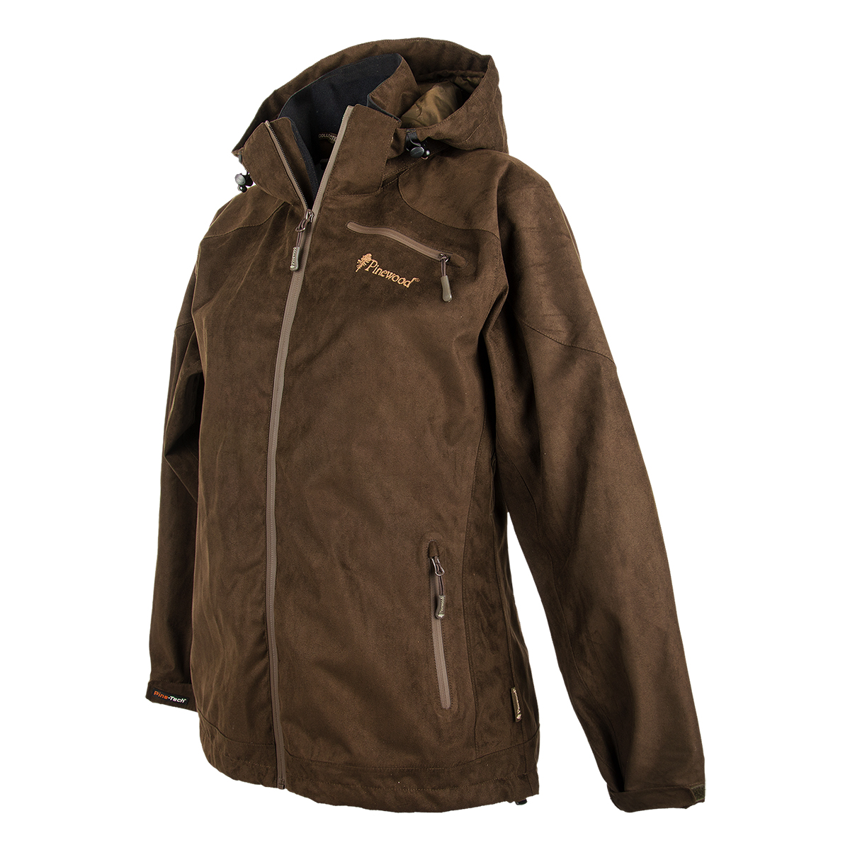 Pinewood Damenjacke Grouse Suede Braun im Pareyshop