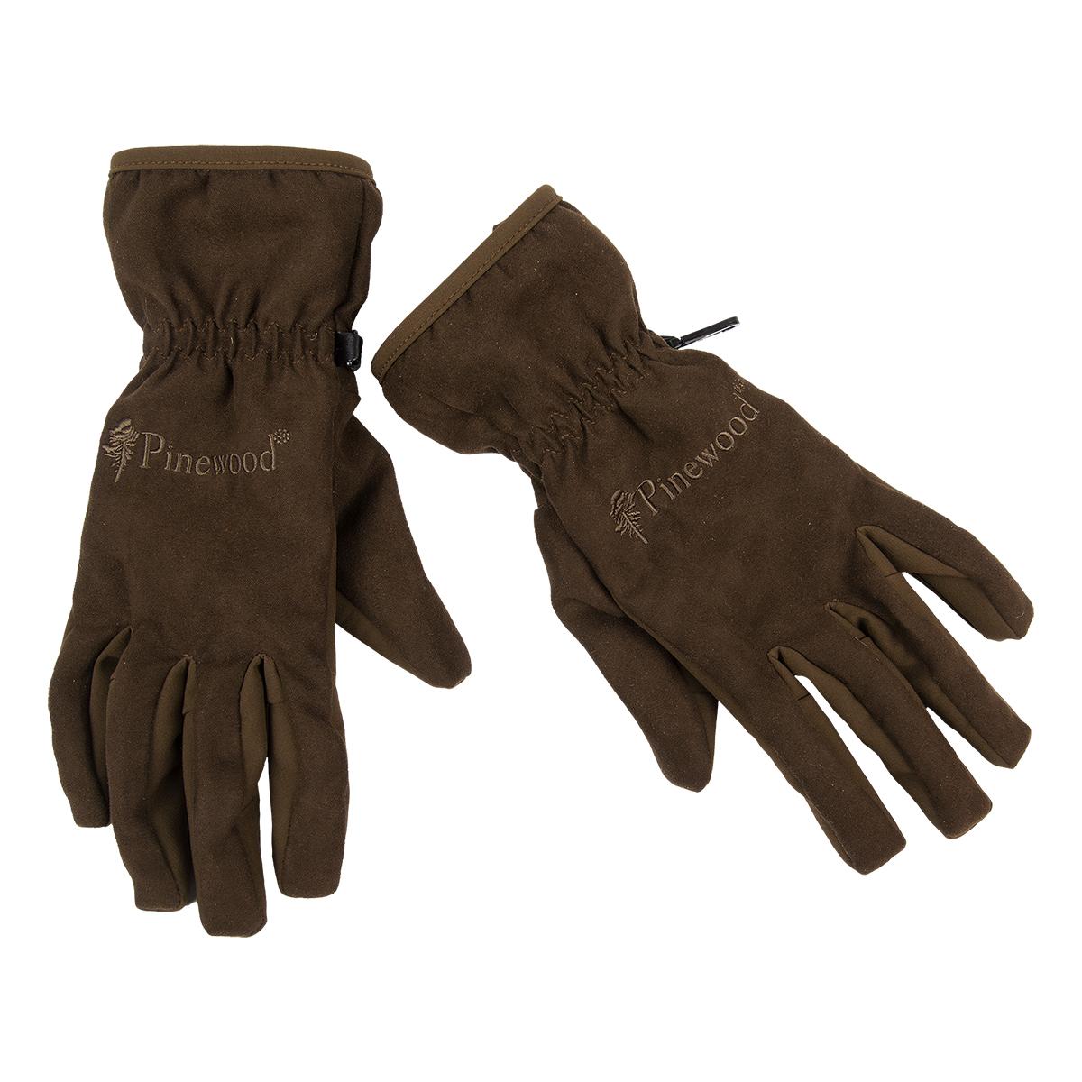 37ef0e8b2d09 Pinewood Damenhandschuhe Extreme Suede Braun im Pareyshop