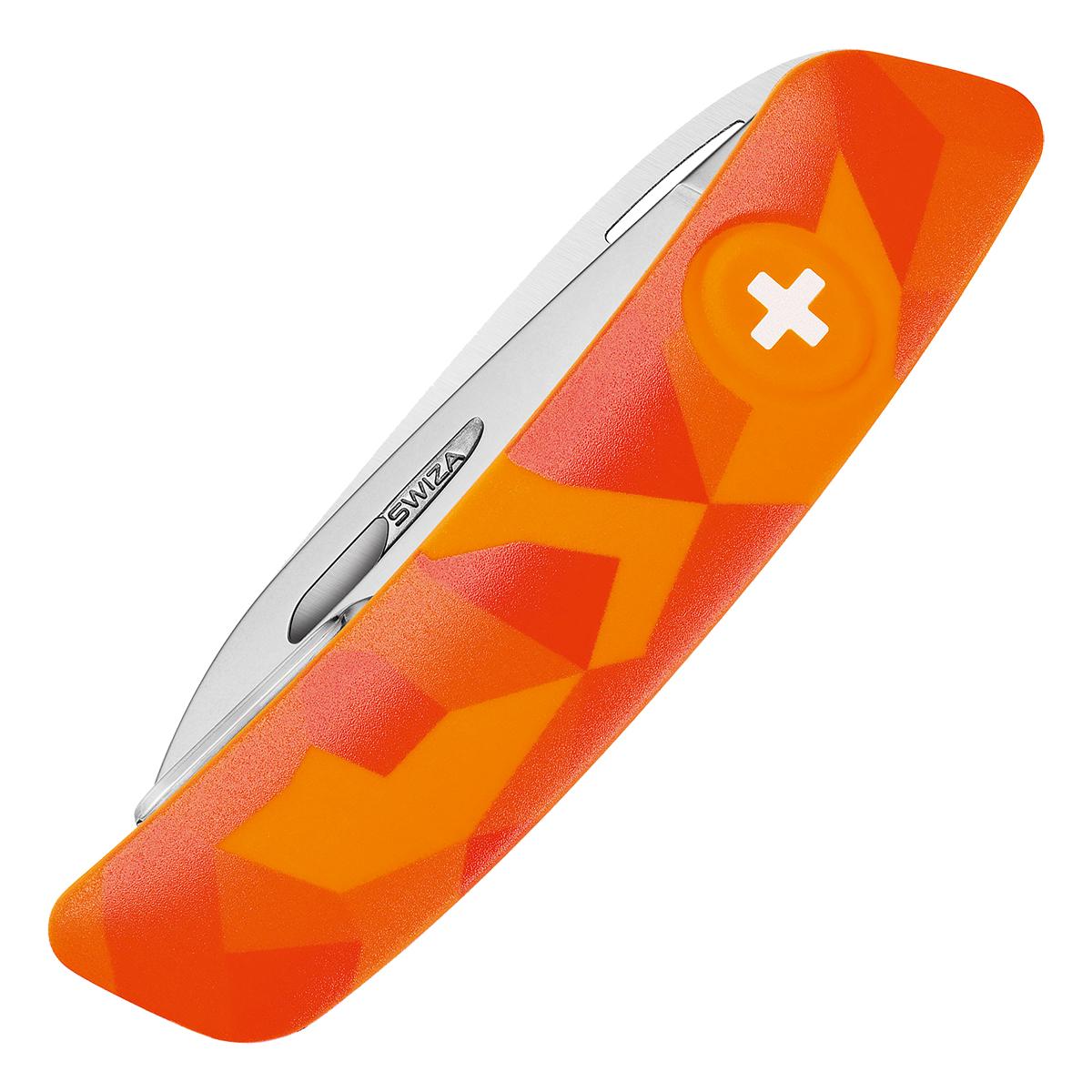 SWIZA Kindermesser J06 Orange Luceo mit Säge im Pareyshop