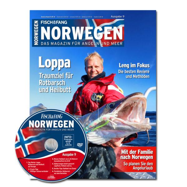 FISCH & FANG Sonderheft Nr. 39: Norwegen Magazin Nr. 9 + DVD im Pareyshop