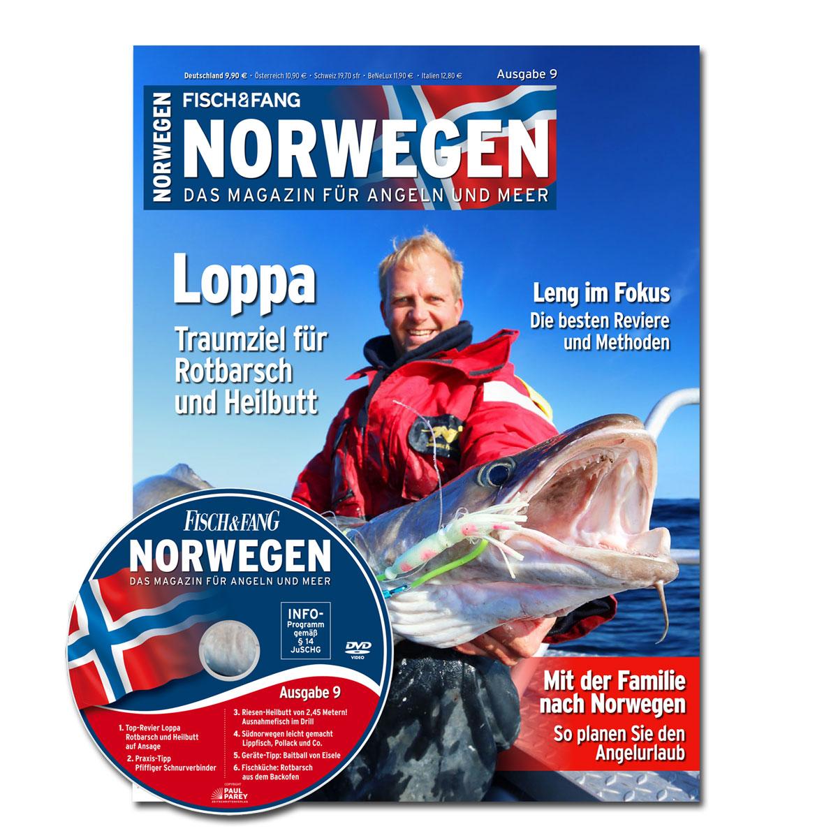 FISCH & FANG Sonderheft Nr. 39: Norwegen-Magazin Nr. 9 + DVD im Pareyshop