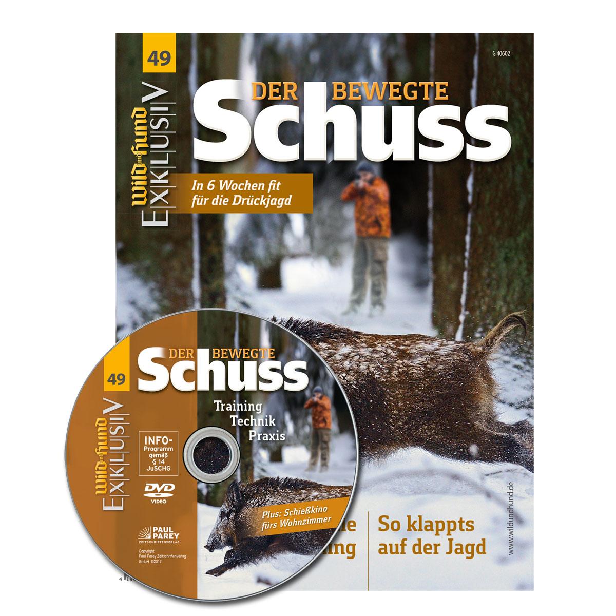 WILD UND HUND Exklusiv Nr. 49: Der bewegte Schuss inkl. DVD im Pareyshop