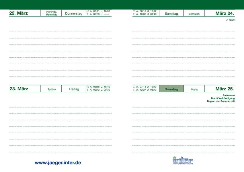 Taschenkalender WILD UND HUND 2018 im Pareyshop