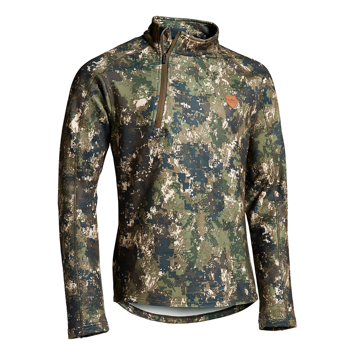 Northern Hunting Camo-Fleecepullover Svart im Pareyshop