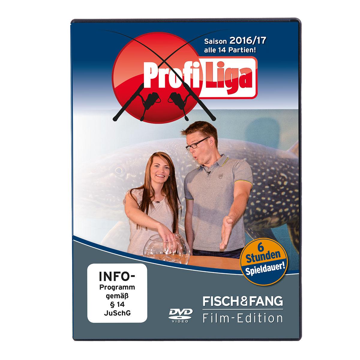 FISCH & FANG Profi Liga Saison 2016/2017 (Doppel-DVD) im Pareyshop