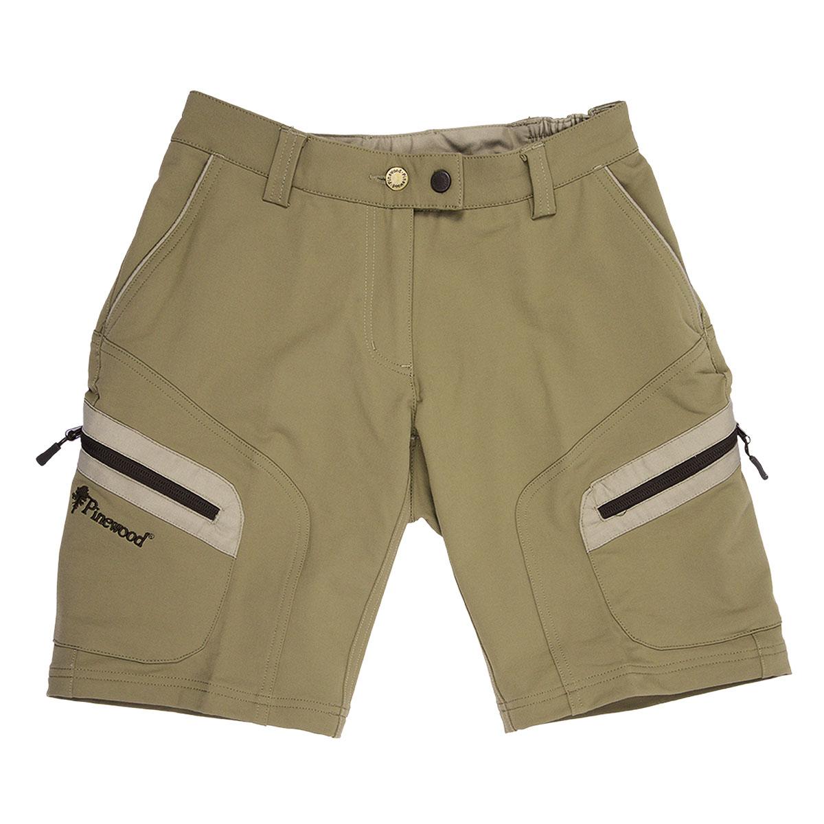Pinewood Damen Wildmark Stretch Shorts khaki im Pareyshop