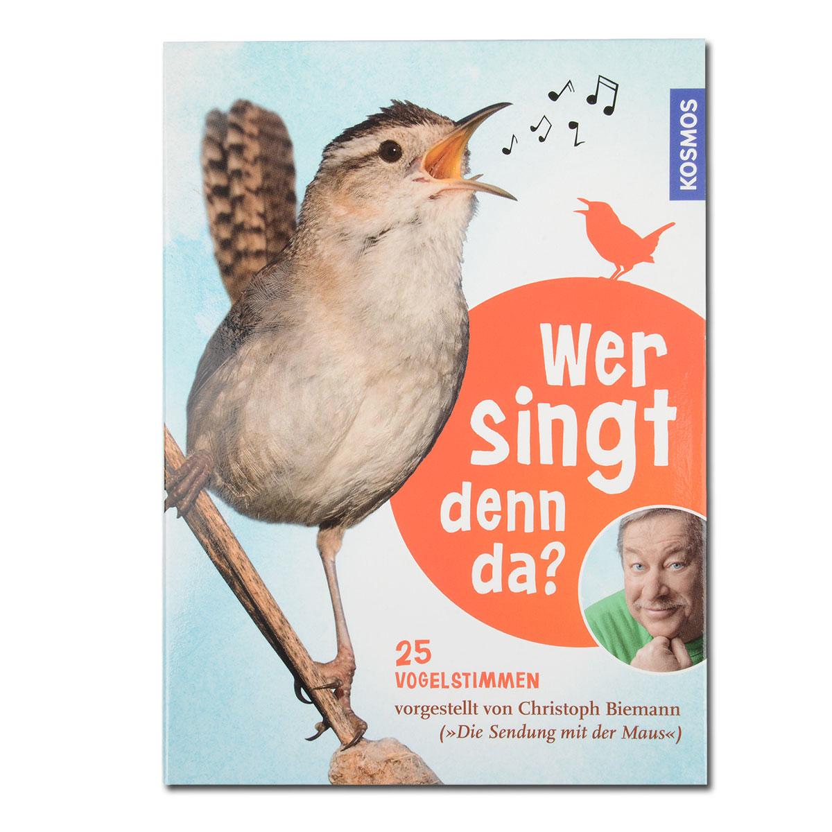 Wer singt denn da? (CD + Buch) im Pareyshop