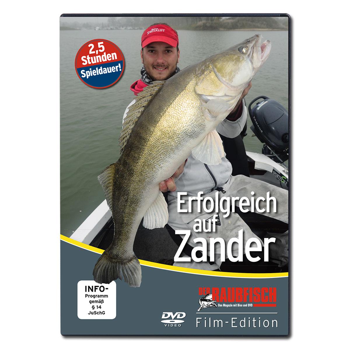 Erfolgreich auf Zander - Der Raubfisch Film-Edition (DVD) im Pareyshop