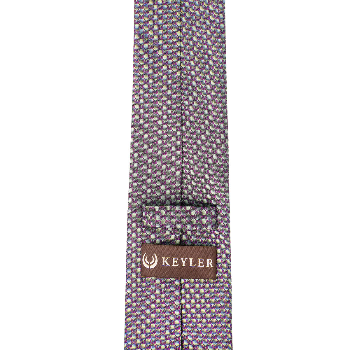 """KEYLER Krawatte """"Basse"""" Schilf/Beere im Pareyshop"""
