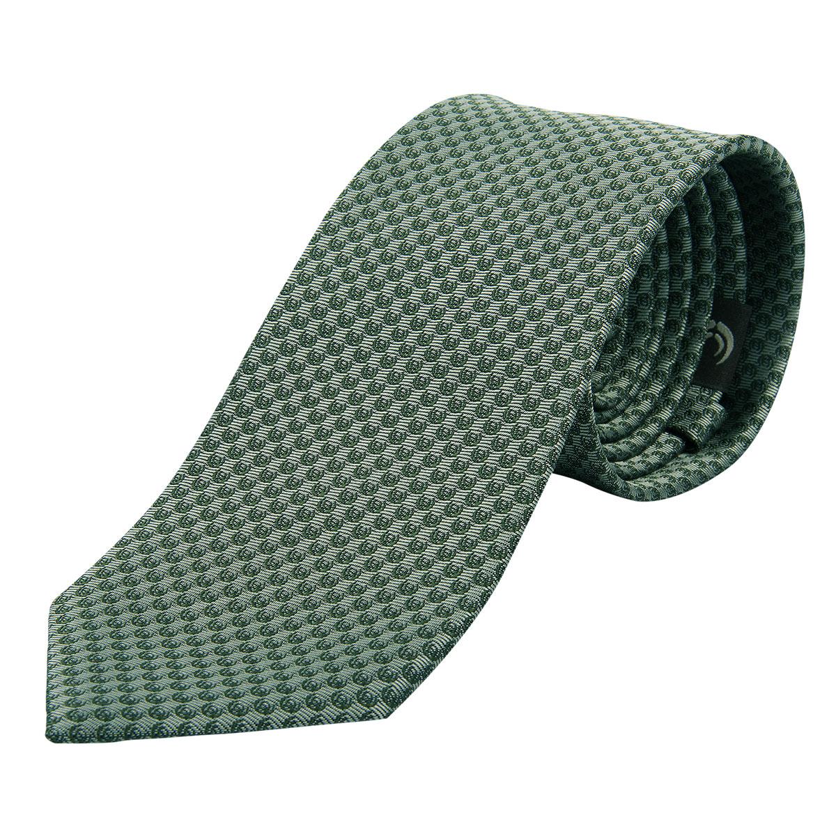 "KEYLER Krawatte ""Basse"" Schilf/Dunkelgrün im Pareyshop"