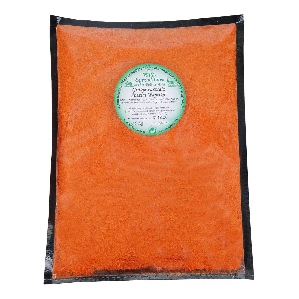 Wild-Würzmischung Grillgewürz Spezial Paprika im Pareyshop