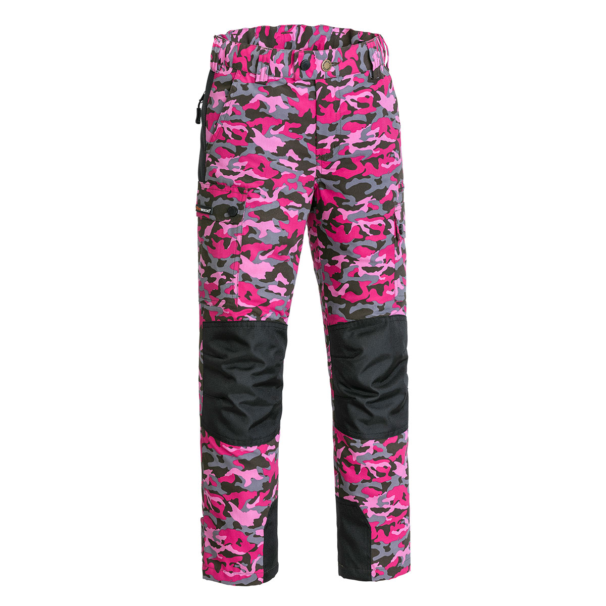 Pinewood Kinder Hose Lappland Camou Hot Pink Jungle/Schwarz im Pareyshop
