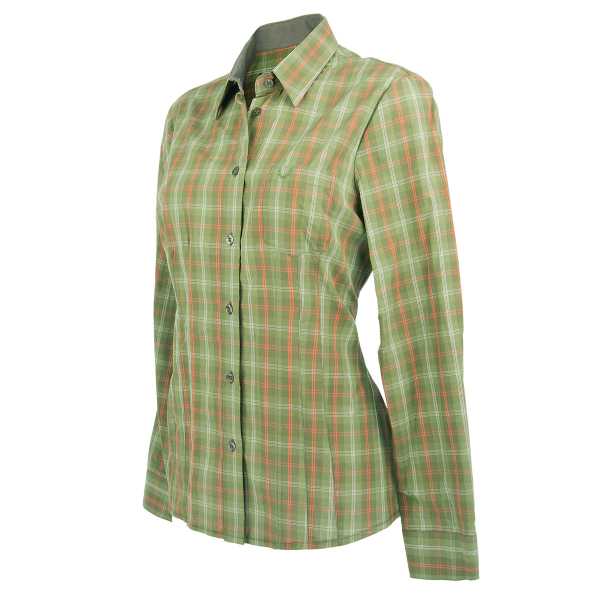 Wild & Wald Damen-Bluse Conny langarm im Pareyshop