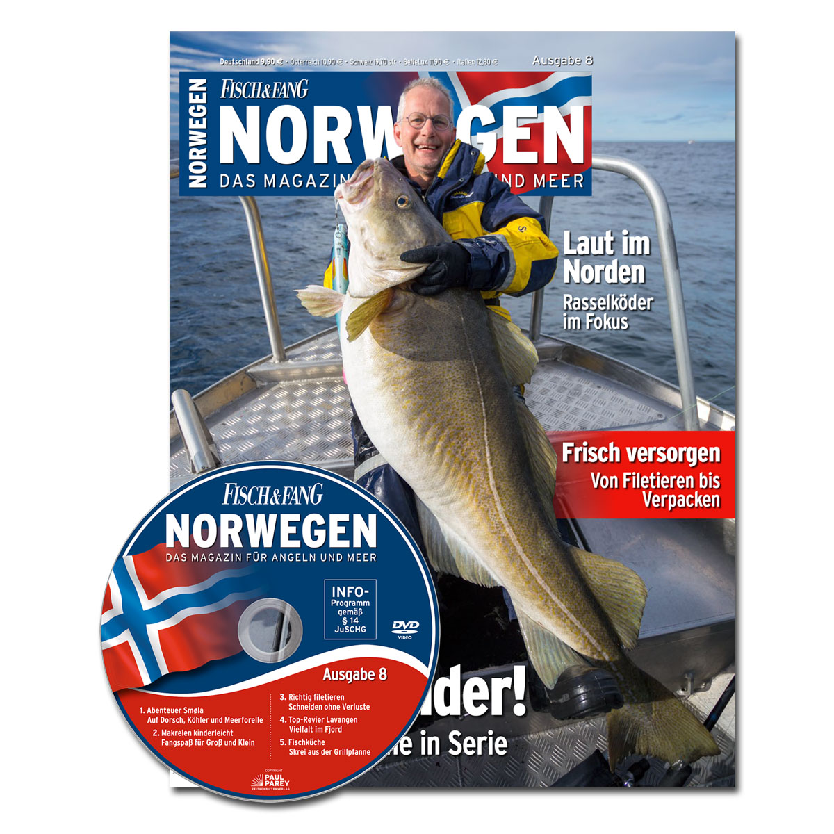 FISCH & FANG Sonderheft Nr. 38: Norwegen-Magazin Nr. 8 + DVD im Pareyshop