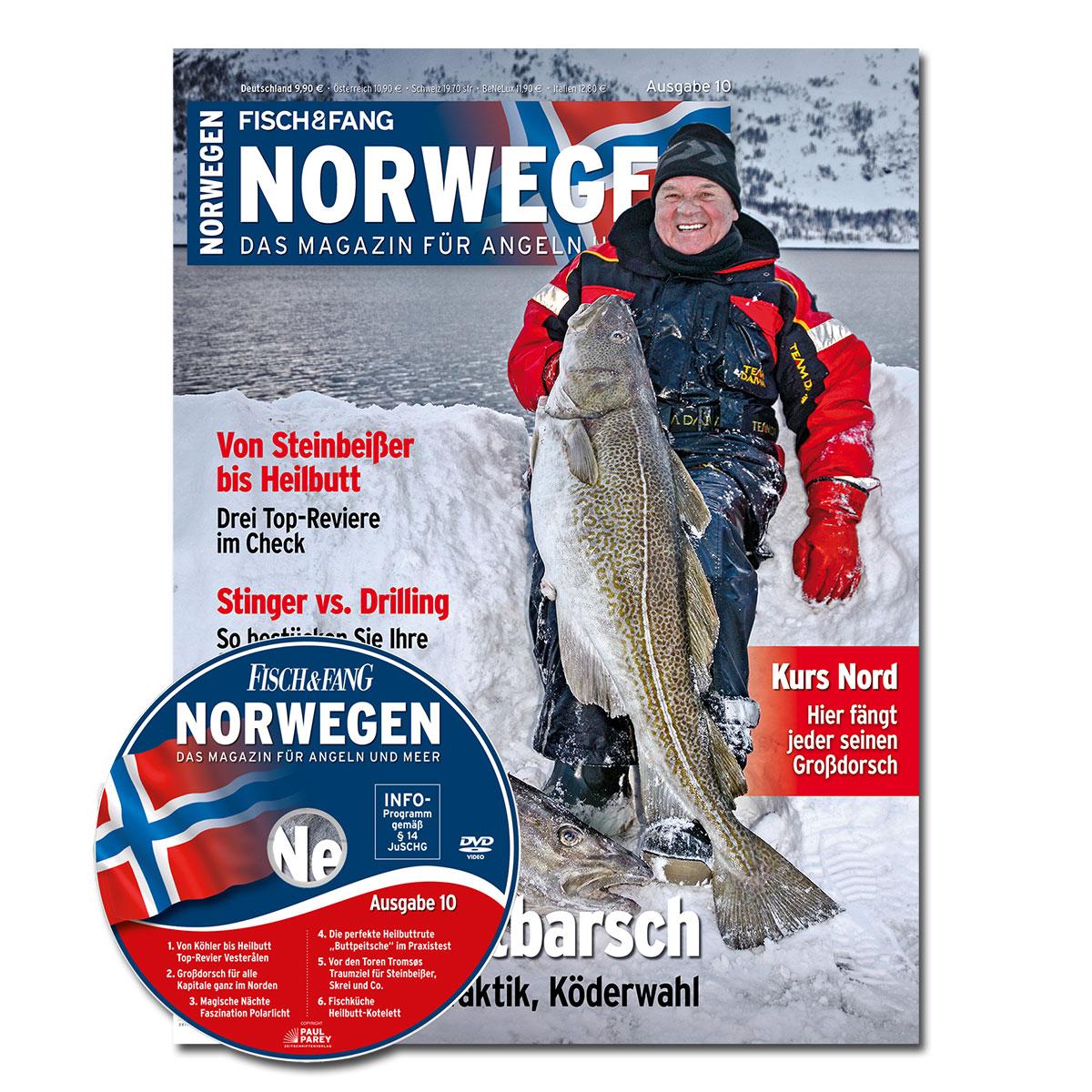 FISCH & FANG Sonderheft Nr. 40: Norwegen-Magazin Nr. 10 + DVD im Pareyshop