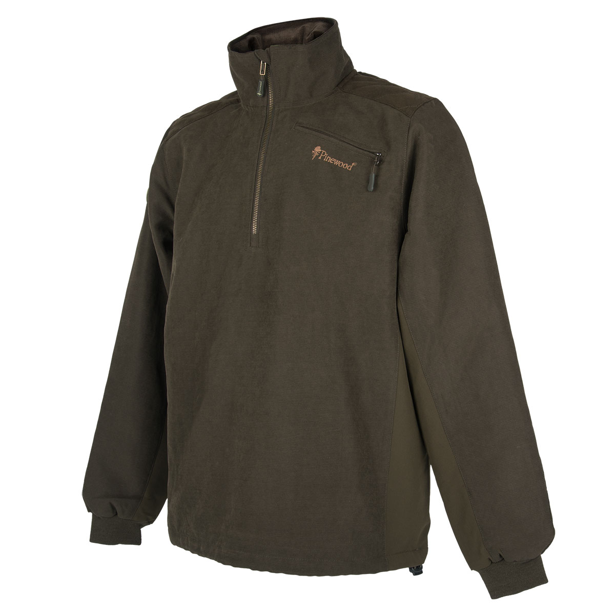 Pinewood Sweater Prestwick Suede Wildlederbraun im Pareyshop