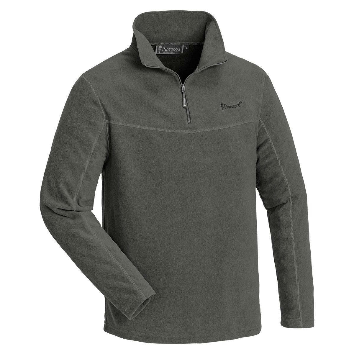 Pinewood Fleece-Sweater Tiveden Grau im Pareyshop