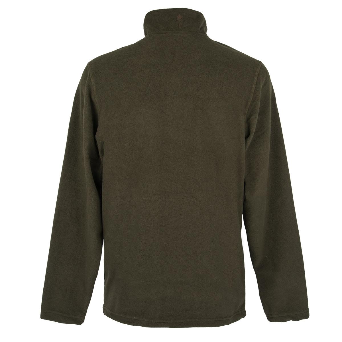 Pinewood Fleece-Sweater Tiveden Jagdgrün im Pareyshop