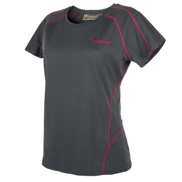 Pinewood Damen T-Shirt Activ Grau/Pink im Pareyshop