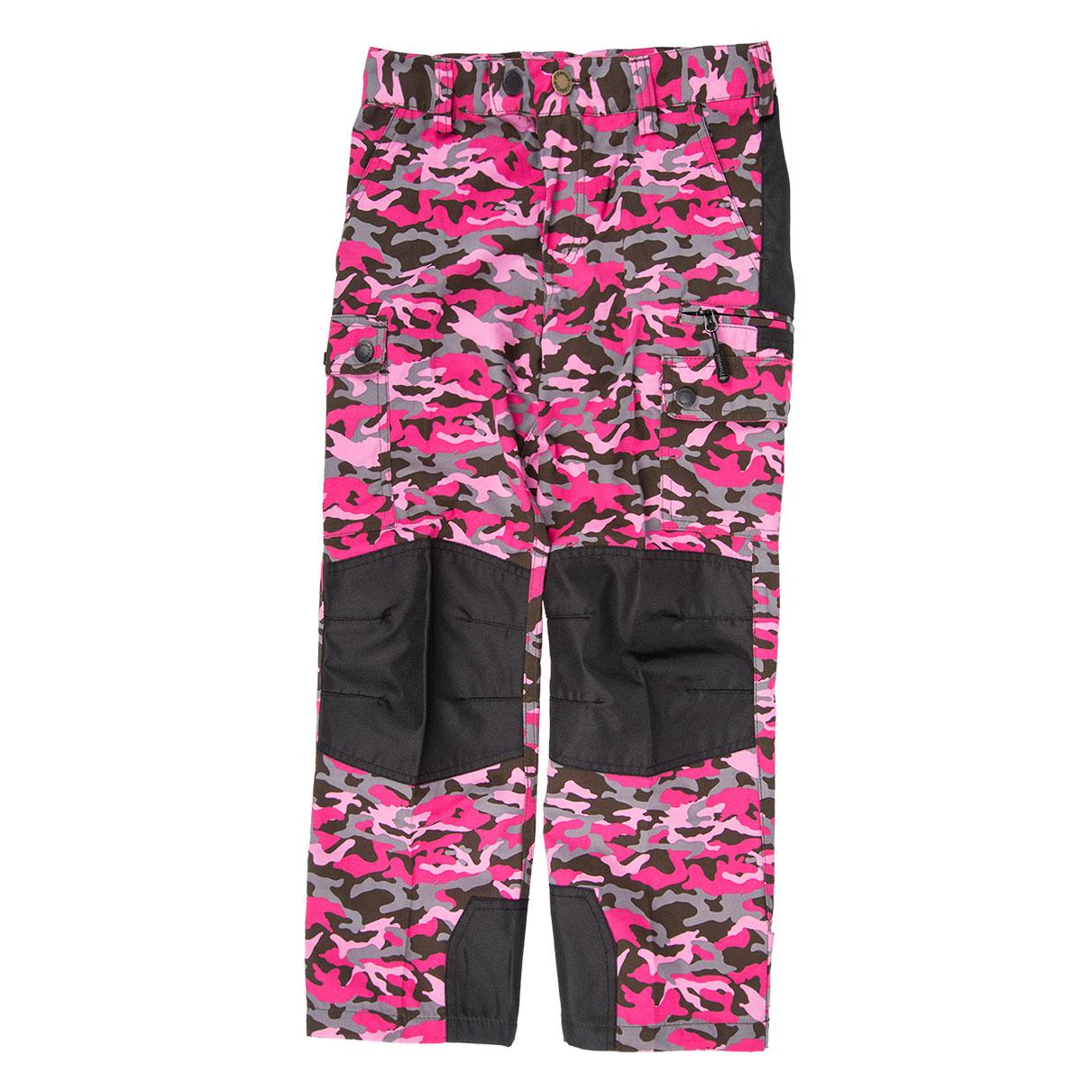 Pinewood Kinder Hose Lappland Camou Hot Pink Jungle/Schwarz im Pareyshop