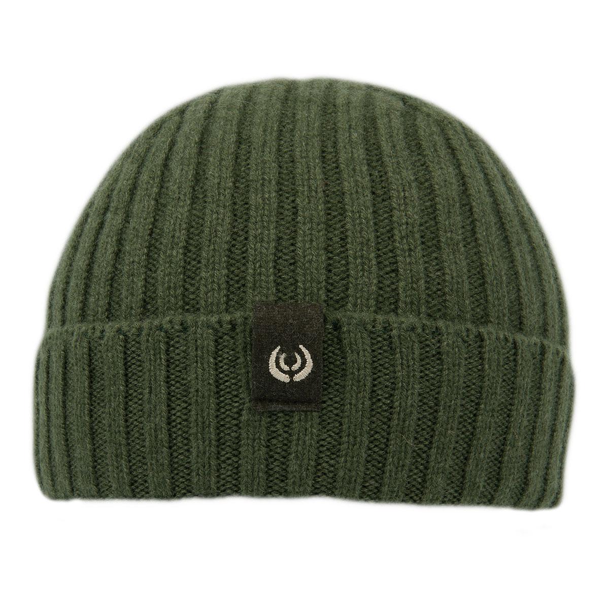KEYLER Kaschmir Mütze Grün-Meliert im Pareyshop