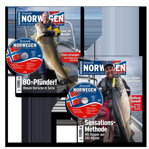 Norwegen-Magazin Set (Ausgabe 7 und 8) im Pareyshop