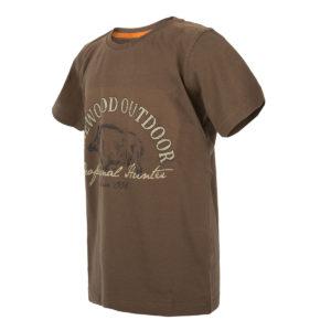 Pinewood Kinder T-Shirt Wild Boar Khaki Grün im Pareyshop