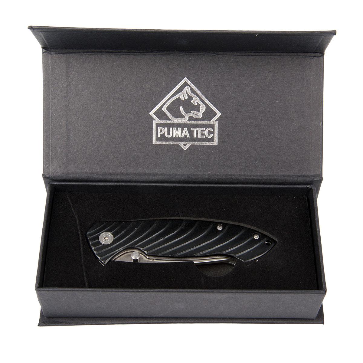 Puma Tec Einhandmesser Schwarz (336711) im Pareyshop