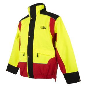 PSS X-treme Rain Regenjacke Rot/Gelb im Pareyshop